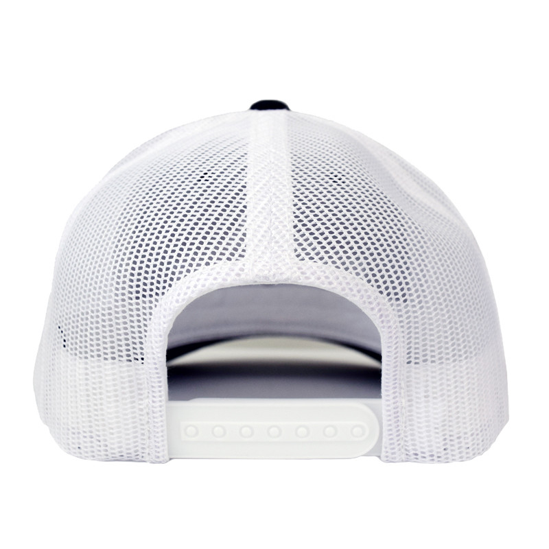 Snapback Black & White Hammer Lane Hat Back