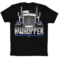 KWhopper Hammer Lane Trucker T-Shirt Back