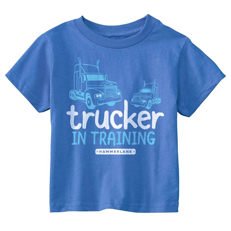 Trucker In Training Hammer Lane Toddler Tee