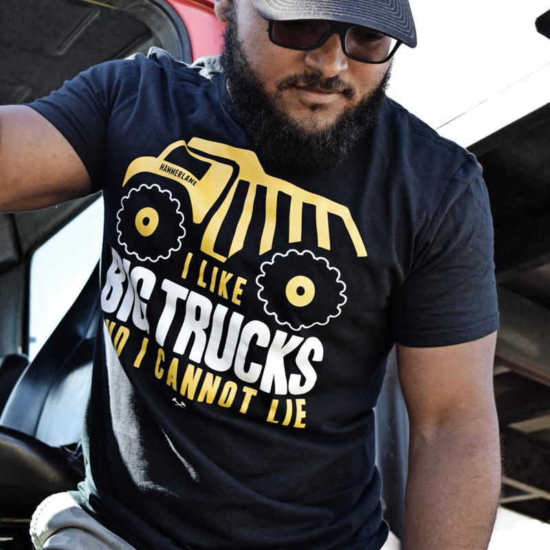Adult Tonka Hammer Lane T-Shirt On Model 2