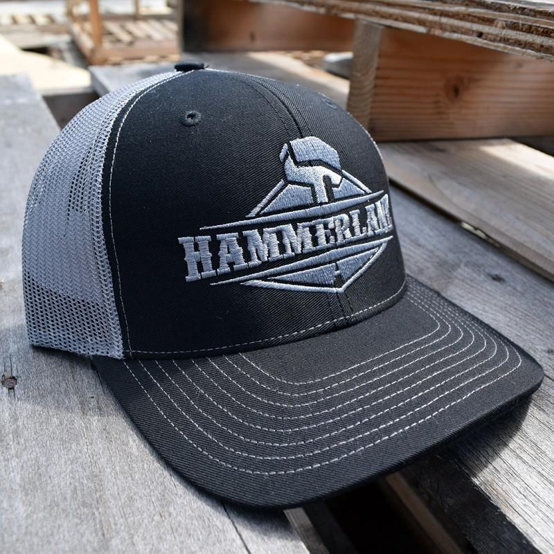 Hammerlane Snapback Trucker Hat Silver