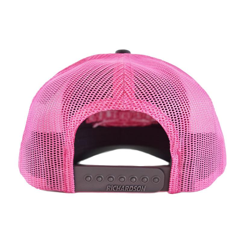 Snapback Neon Pink Hammerlane Trucker Hat Back