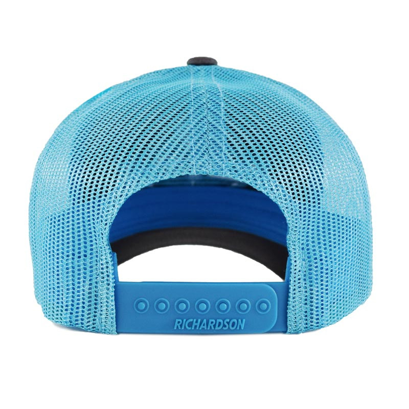 Snapback Neon Blue Hammerlane Trucker Hat Back