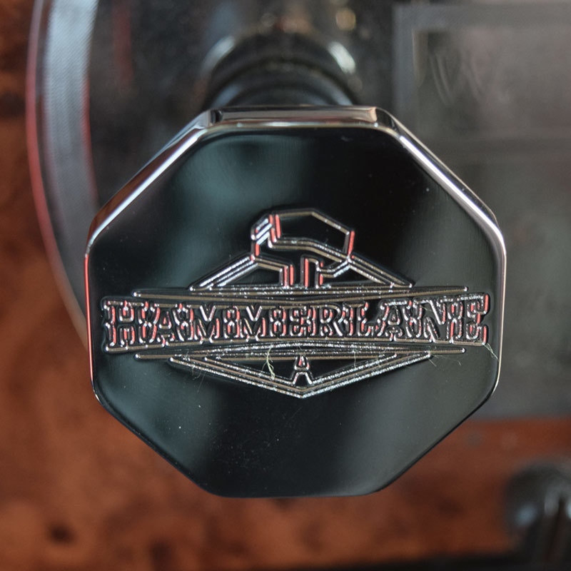 Engraved Hammerlane Tractor Trailer Air Brake Knob Octagon