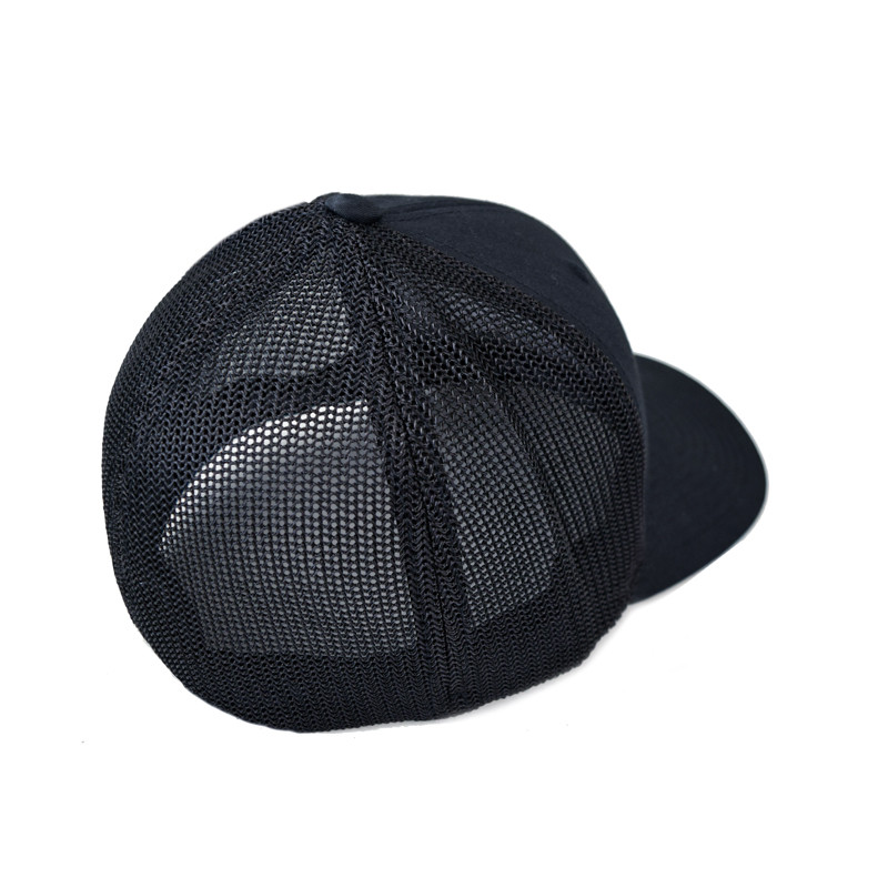 Mesh Black Hammer Lane Hat Back