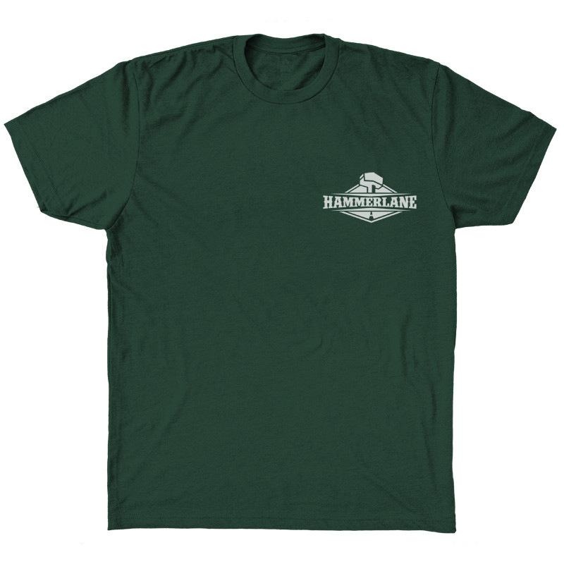 Limited Edition Hammer Lane Trucker T-Shirt Front
