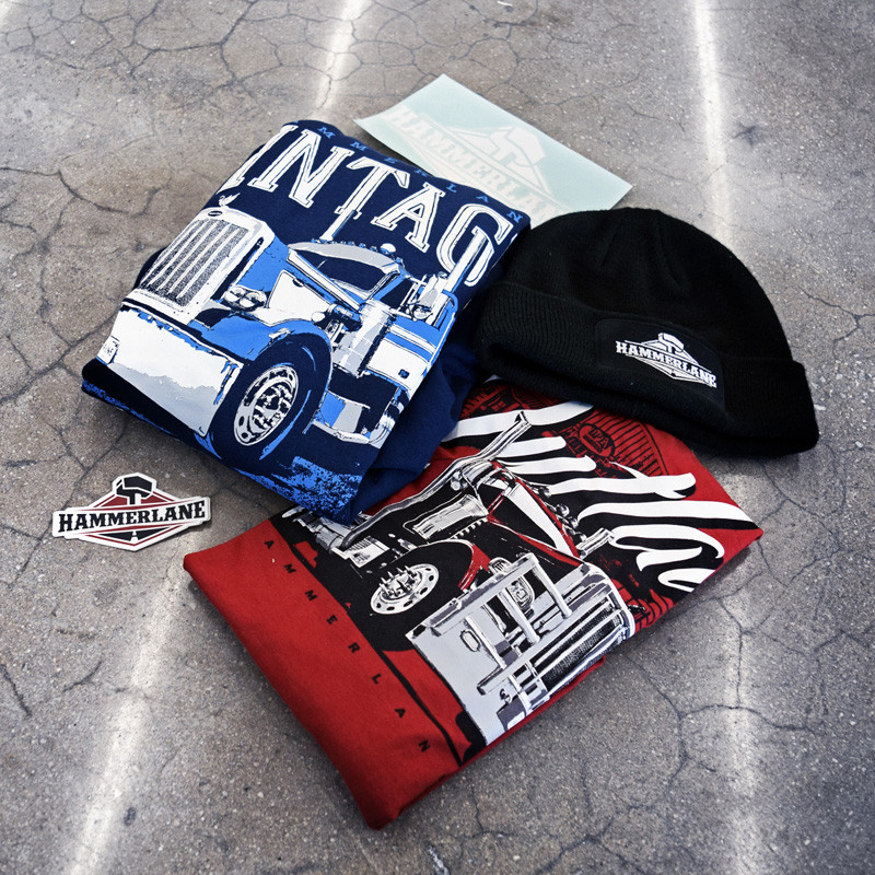 Hammer Lane Winter Box With Outlaw Shirt Folded
