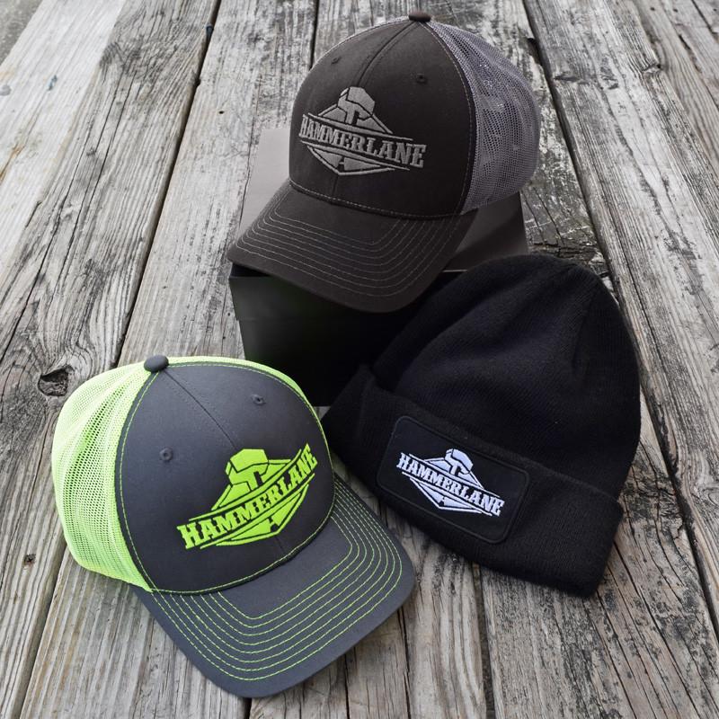 Hammer Lane Hat Pack On Display