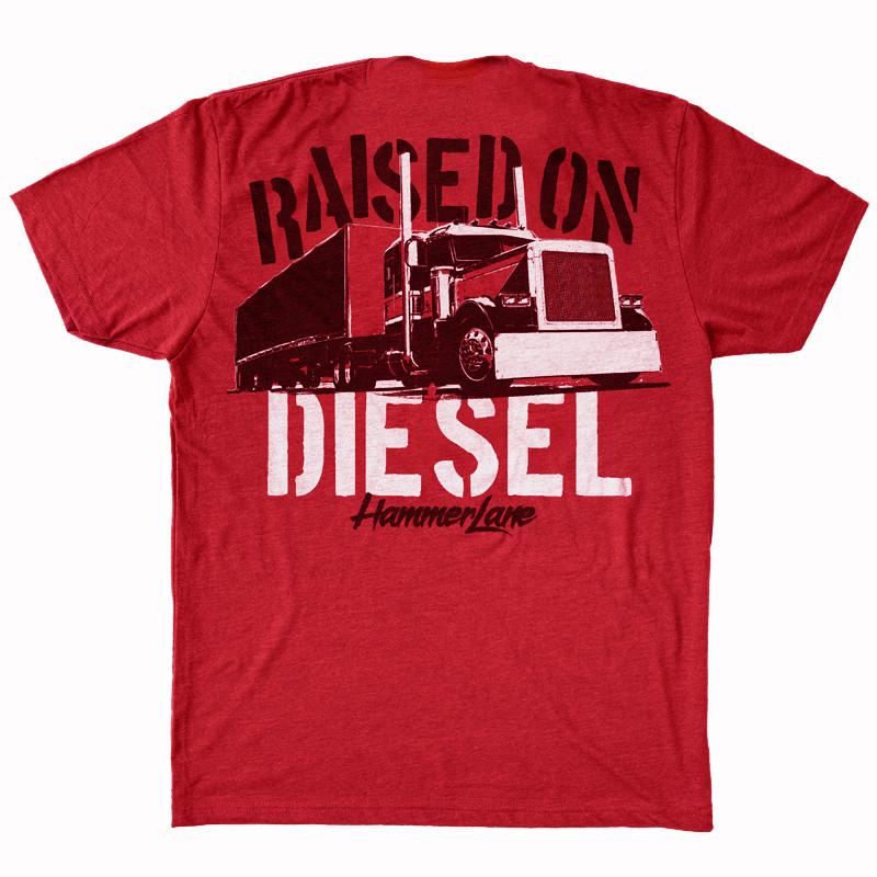 Raised On Diesel Hammer Lane T-Shirt