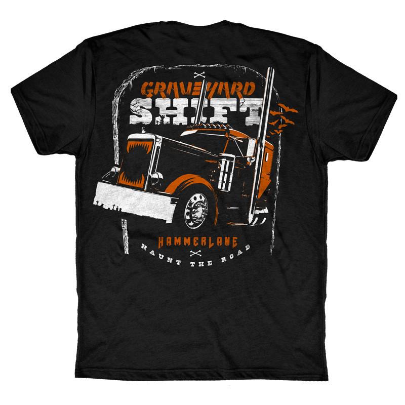 Graveyard Hammer Lane T-Shirt Back