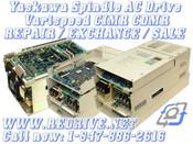CIMR-VMW27P5 Yaskawa VM3 Spindle Drive 230 VAC 7.5 kW Varispeed VS626
