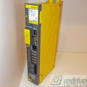 A06B-6096-H202 FANUC Servo Amplifier Module SVM2-12/20 FSSB alpha servo amp. Dual axis A06B-6096 CNC AC servo drive.