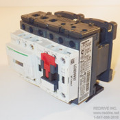 LC2D09T7 Schneider Electric Contactor Reversing 3-pole 20A 480VAC coil