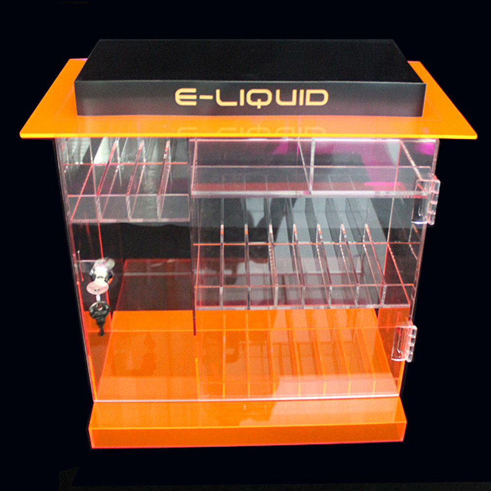 OnDisplay Deluxe Locking e-Juice Display Cabinet w/Opt  Decals - 202