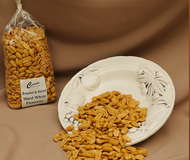 Our top selling freshly roasted and salted Hard White Peanuts. Roasted with premium quality Virginia peanuts. 1lb Bag