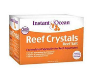 Instant Ocean and Reef Crystals Salt 200gal Box