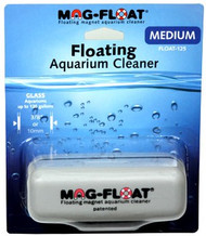 Aquarium glass cleaner and scraper mag float medium size float 125