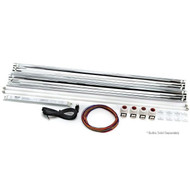 "Miro-4 T5 RetroFit Kit 48"" 2x54watt LET Lighting aquarium high output kit dimmable"