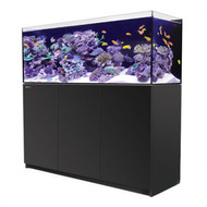 Red Sea Reefer 450 Black 92 Gallon Aquarium Tank Setup