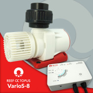 Reef Octopus VarioS-8 Water Pump DC with attachments