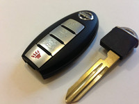 Nissan Smart Key 4Btn remote keyless entry Push to start fob fobik 2013 2014 Altima Maxima