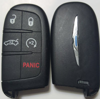 Chrysler 200  Fob Fobik 5 button Remote keyless key 2015 2016