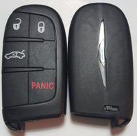 Chrysler 200 Fob Fobik Remote keyless smartkey push to start prox key trunk 2015 2016
