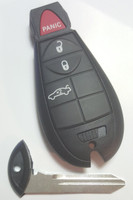 Dodge 4 button GENUINE Fob Fobik PROXIMITY (Push-to-start) OEM Smart Key  Trunk Remote 2008 2009 2010 2011 2012 2013 2014