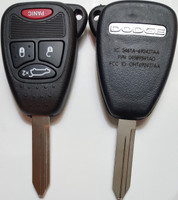 Dodge 4 button RemoteHead COMPLETE Key OEM 2004 2005 2006 2007 2008 2009 2010 2011 2012