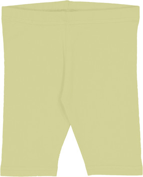 Fitted Short Leggings- Citron