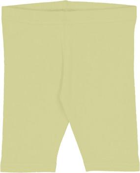 Fitted Short Leggings- Citron