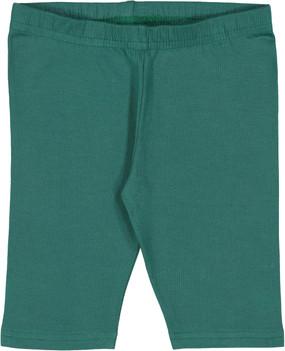 Fitted Short Leggings- Bottle Green