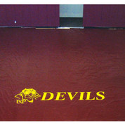 "42"" Floor Cover Lettering for Gym Floor Covers 1 color"