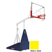 Yellow Gold Indoor Portable Porter 735 Adjustable Height Basketball System