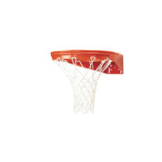 MacGregor Enduro Front Mount Outdoor Playground Basketball Rim with Net and Goal Hardware