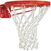 MacGregor Front Mount Super Goal with Nylon Net - Double Rim for Indoor an Outdoor