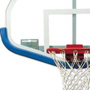 Scarlet Bison DuraSkin Fan-Shaped Basketball Backboard Safety Padding