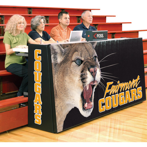 Cover for Bison Sport Pride Bleacher Basketball Scorers Table