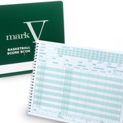 Mark V 30 Game Basketball Scorebook with Season Summary Pages