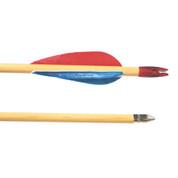 Select Poplar Shaft Wooden Archery Arrows - Pack of 72