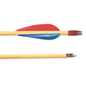 Select Grade Cedar Wooden Archery Arrows - Pack of 12