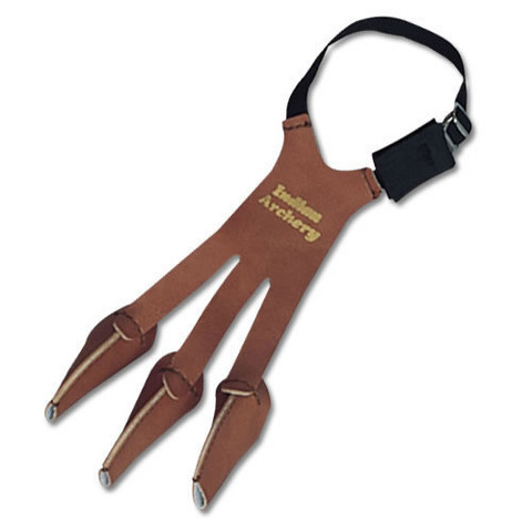 Soft Leather Archery Shooting Protection Glove For Hands and Fingers