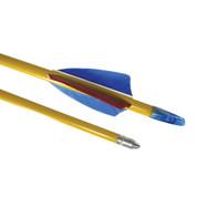 Standard Grade Poplar Shaft Wooden Archery Arrows - Pack of 72 - 26 Inch