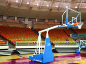 Gared Sports Hoopmaster 5 Portable Basketball Goal with 5-ft Boom