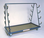 Stackhouse Rolling Volleyball System Heavy-Duty Equipment Cart