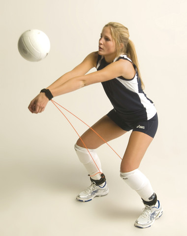 Stackhouse Volleyball Elastic Pass Trainer