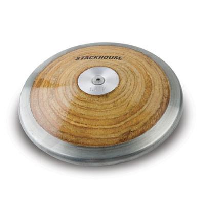 Stackhouse Competition Economic High School Wood Discus 1.6 kilogram - Economic/Value Discus