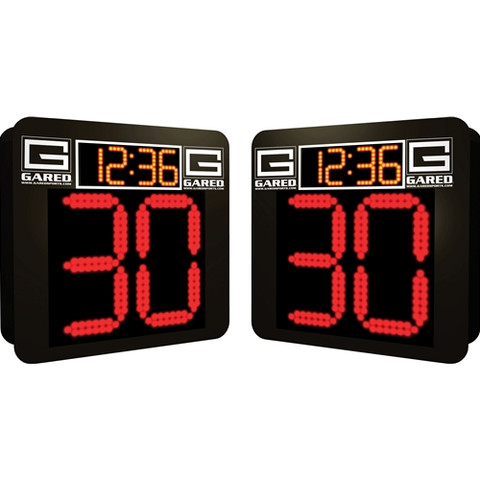 Gared Sports Alphatec Basketball Shot Clocks and Game Timers Combo