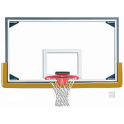 Gared Sports Regulation Size Glass Basketball Backboard - Steel Frame