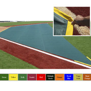 Wind Weighted Infield Protector 20'W x 15'D x 50'L